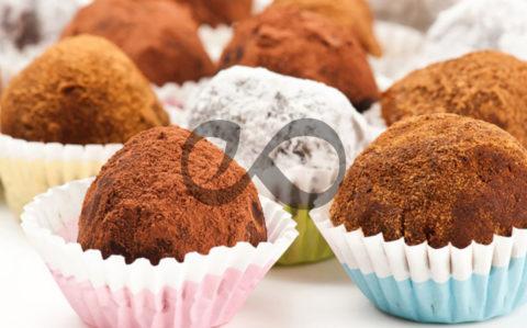 Bisküvili Çikolatalı Truffle