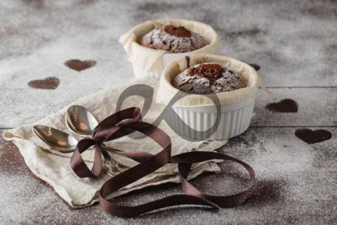 Çikolatalı Lav Kek