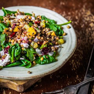 Ispanaklı Mercimek Salatası