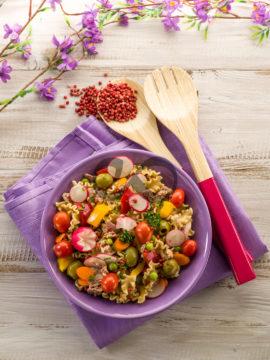 Makarnalı Bahçe Salatası