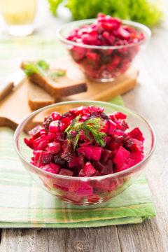 Patatesli Vinaigrette - Vinegret Salata