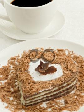Vanilyalı Kremalı Kek