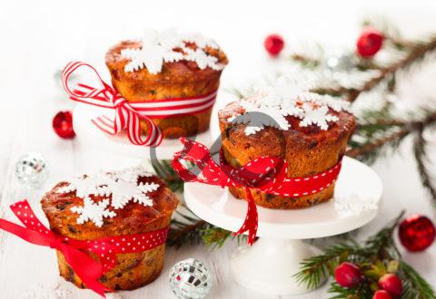 Yemişli Marmelatlı Muffin